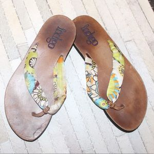 Indigo Sandals/Flip Flops
